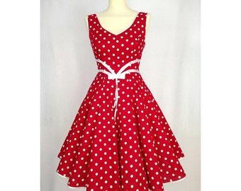 Petticoat dress dress Red