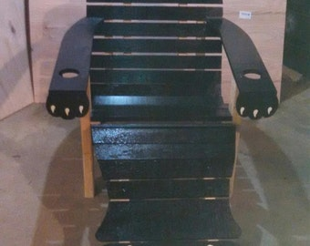 bear adirondack chair