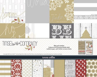 """Teresa Collins Collection Pack 12""""X12""""-Tinsel & Company"""