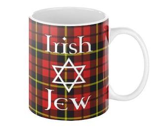 Irish Jew Tartan Coffee Mug