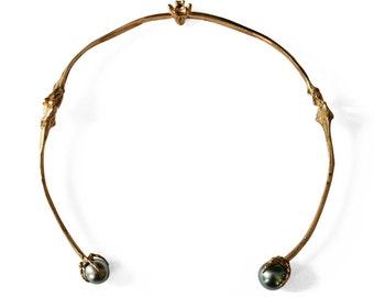Bone Pearl Necklace