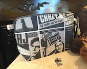 "Knitting Project Bag ""Big Bang"" (Medium Wedge & Stitch Markers)"