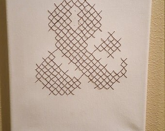 Ampersand Cross Stitch Canvas