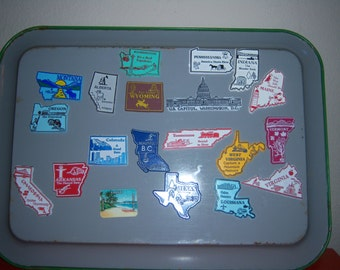 Vintage State Magnets (including DC and BC)