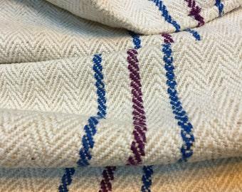 Vintage grain sack linen - cotton