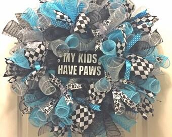 Dog lover wreath