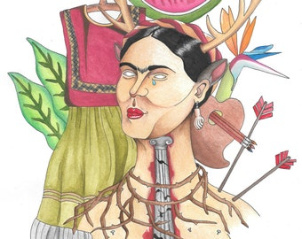 Frida And Her Works