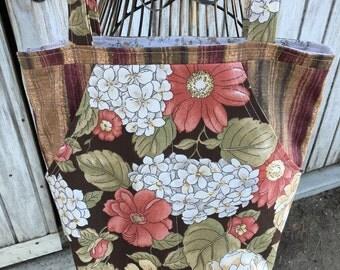 Floral Tote | Book Bag