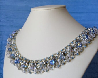 Silver Sea Necklace