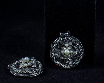 2  locket necklaces