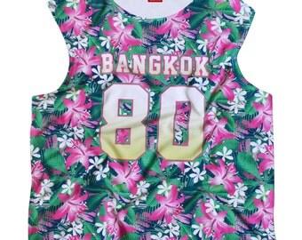 TepThaiTewa : Bangkok 80 Floral Women's Tank Top