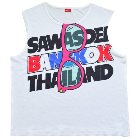 TepThaiTewa : Sawasdee (Hello) Bangkok Thailand Women's Tank Top