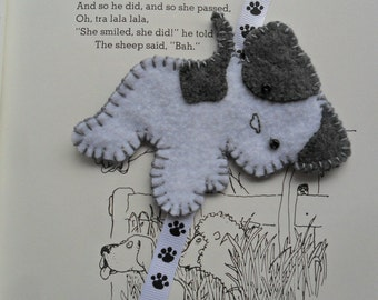 Playful Puppy Bookmark