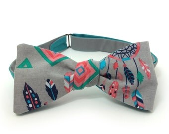 Dreamcatcher Freestyle Bow Tie / adjustable 15-19 inch