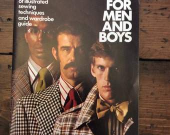 Sewing for Men and Boys 1973 Simplicity How To Magazine (A351)