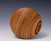 """A 5"""" Zebra Round Rib for Throwing Perfect Bowls Re-design (© Copy right #TXu 1-961-453) by Master Potter HsinChuen Lin 林新春"""