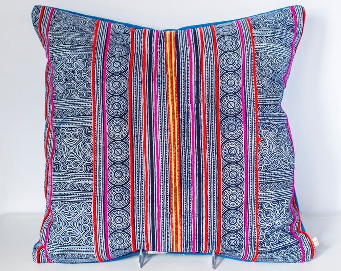 Pim: Hmong throw pillow 20 x 20