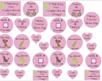 Anti Valentines Day Stickers