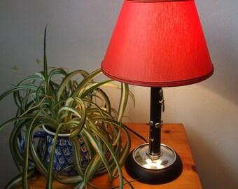 Flute table/desk or shelf lamp