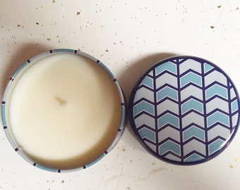 8 oz Fresh Cotton Soy Candle.