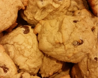 Homemade Chocolate Chip Cookies - 36 Cookies