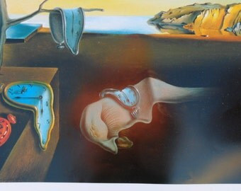 PERSISTENCE OF MEMORY By Salvadore Dali.