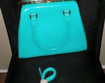 metal Closure jelly tote