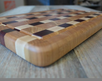 End-Grain Cutting Board with Juice Groove