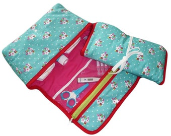 Diaper bag + changing mat - BLOSSOM.