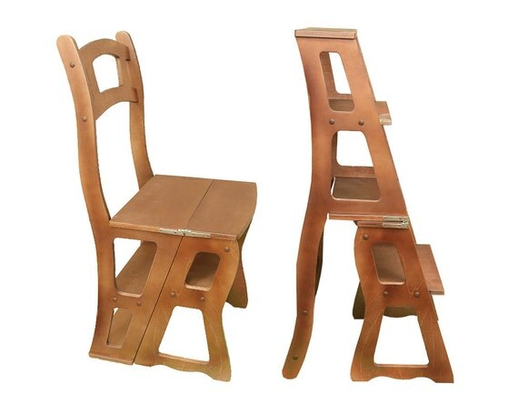 items similar to step stool chair chair ladder step