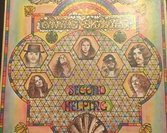 Lynyrd Skynyrd Second Helping LP MCA-413 (MCA439) Records 1974