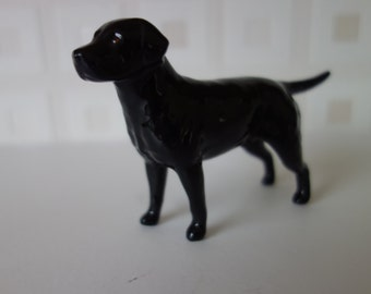 Beswick black labrador