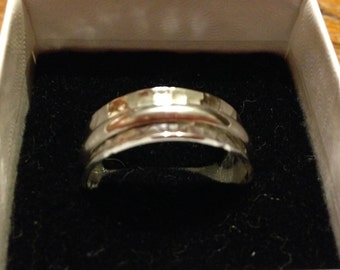 Sterling Silver Spin/mediation ring