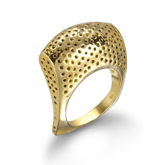 Perforated Statement Ring