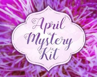 PRINTABLE April Mystery Kit Printable April planner sticker set Mystery Planner Sticker Set Planner Sticker Kit for Erin Condren April Sale