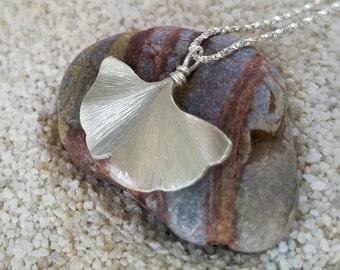 Original Ginkgo Leaf Necklace