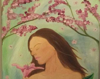Original Oil Painting: Serenity