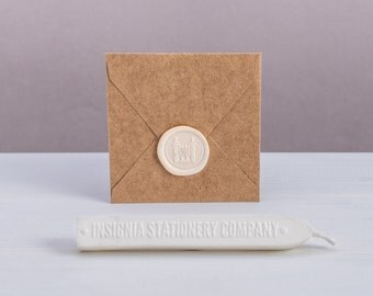 Durable White Sealing Wax Sticks