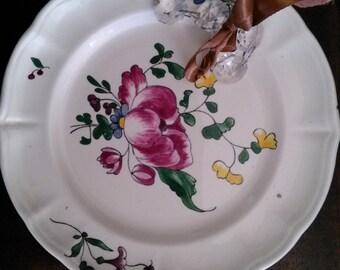 Laveno pottery dish