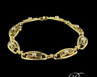 Former diamond 18 K Gold Bracelet