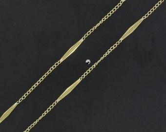 Gold vintage chain