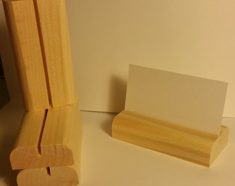 200 Wooden Place Card Holders