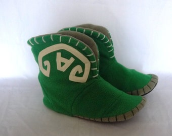 Plush slippers for home of game Dota Tranquil boots