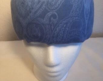Freezeit! Migraine Headwraps - Blue Flannel