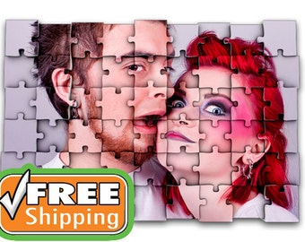 Personalized Photo Puzzle Custom Gift Puzzle Your Photo / Print / Text Personal Puzzles Personal Puzzle Picture Gift Personal Jigsaw Puzzles