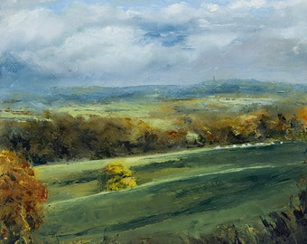 Rural Landscape ('Rolling Clouds')