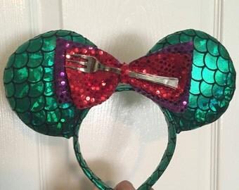 Little Mermaid Inspired Ears