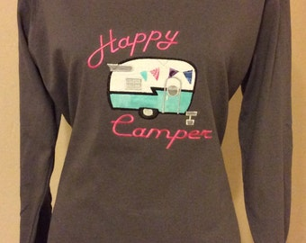 Happy Camper Sweater