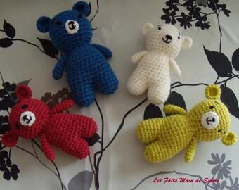Small Teddy bear crochet