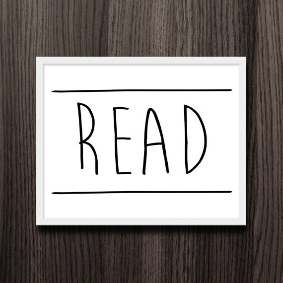 read between the lines digital 8x10 printable funny book puns